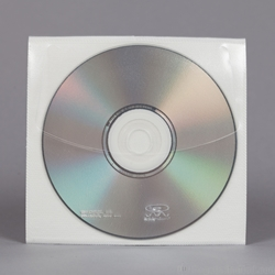 Univenture CD Self-Adhesive Pak. Polypropylene outside.<br>Safety-sleeve® material inside. 5-1/4 x 5