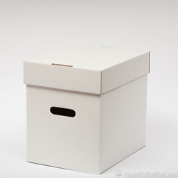 "12"" Vinyl Record Storage Box, CORRUGATED CARDBOARD"