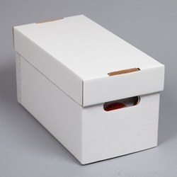 45 Record Storage Box, Corrugated Cardboard