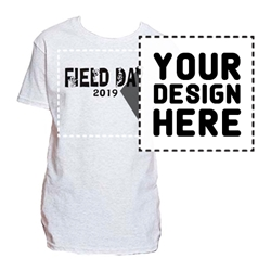 YOUTH PRINTED T-SHIRTS. Short Sleeve. WHITE.