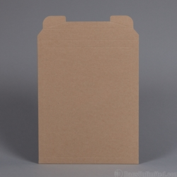 "Rigid Mailer .037"" thick Brown Kraft"