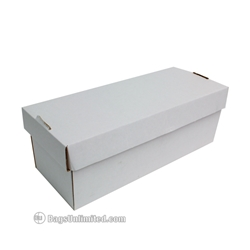 CD/VHS/DVD/5  Reel Storage Box-WHITE CORRUGATED CARDBOARD  sc 1 st  Bags Unlimited : cd storage box with lid  - Aquiesqueretaro.Com