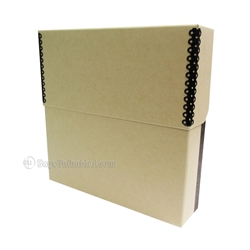 Vinyl Record Storage Box, Archival BARRIER BOARD