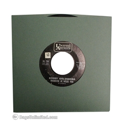 "7'' Antique GREEN ""Old Style"" Paper Sleeve"