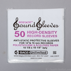 HDPE 10'' Record Sleeves