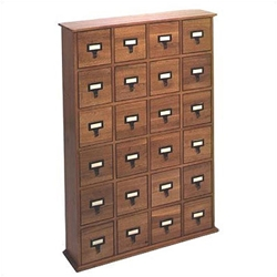Library Card File CD Cabinets. Holds 288 CDs.
