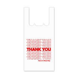 "Large ""Thank You"" T-Shirt Bag"