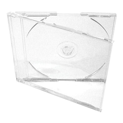 Clear Acrylic CD Case with built in tray.
