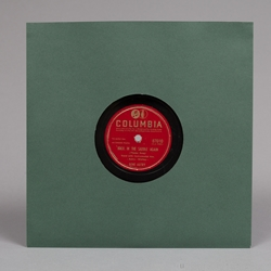 10'' Antique Green Paper Sleeves