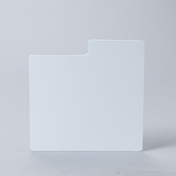 CD Divider Card - WHITE- Fits in xcd30 and xcd90bb.
