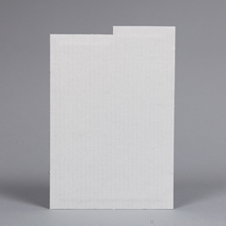 Comic Divider - White Corrugated