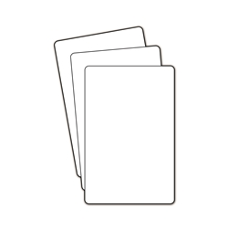 Blank Plastic Divider Cards for DVDs