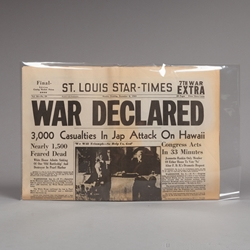 Regular Tabloid Sleeves / Folded Newspaper Sleeves