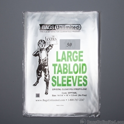 LARGE Tabloid Sleeves