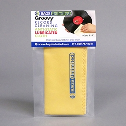 Vinyl Record Cleaning Cloth - Lubricated