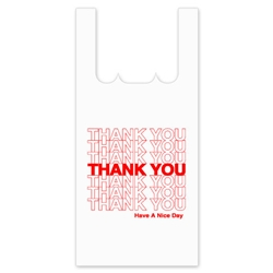 "Jumbo ""Thank You"" T-Shirt Bag"