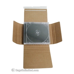 CD Mailer - Holds JEWEL CASES