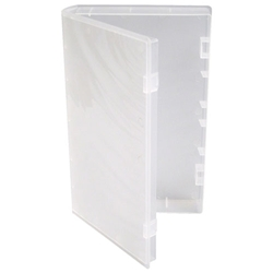 Clear VHS Tape Case - NO Hub