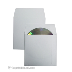CD <b>White</b> Paper Sleeve.<br>Comes with 1-1/2