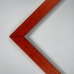 "16 x 20"" Assembled Pinewood Frame - Cherry Laminate Finish"