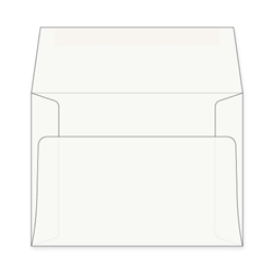 a7 envelopes white
