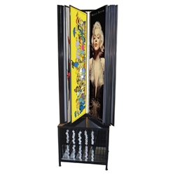 Poster Display & Storage Unit - Free-standing