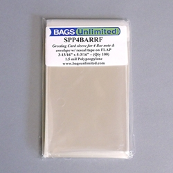 Sleeves for Single Cards - 4 Bar