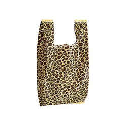 Animal Print T-Shirt Bag - Leopard Pattern