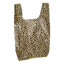 Animal Print T-Shirt Bag - Leopard Print