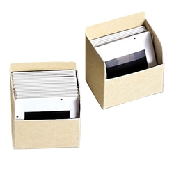 Slide Storage Holder - Archival 20 Pt. Folder Stock