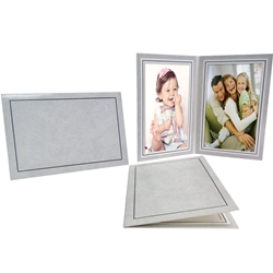 "Double Photo Folder Frame for 4 x 6"" Photos"