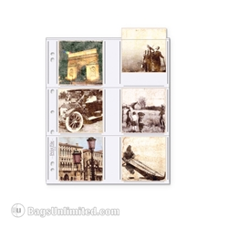 Print & Photo 3 Ring Binder Pages. <br>  Holds up to a 3-1/2 x 3-1/2