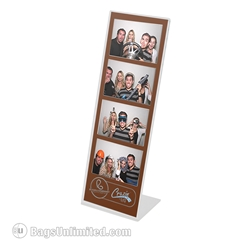 Acrylic Photo Booth Strip Frames. 'L' shaped.