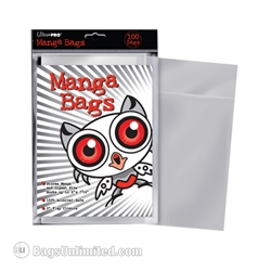 Manga Graphic Novel Protective Bags