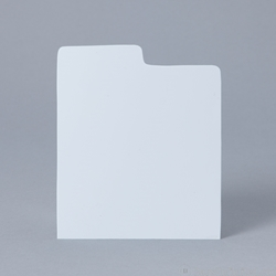CD Divider Card - WHITE - Use for CDs stored in xcd30bb & xcd90bb.