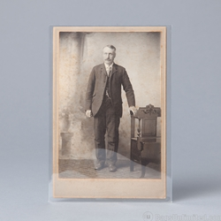 POLYESTER <b>Sleeves </b> for CABINET CARDS