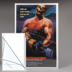 Polyester L-SLEEVES for <font color=810541>One Sheet Posters</font color>