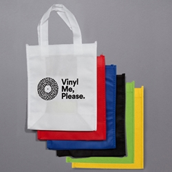 Custom-Printed Nylon Tote. <br> 8 x 10 x 4