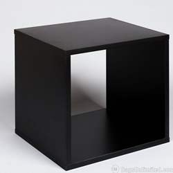 The SheLPf ® Record Cube - BLACK