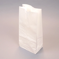 SOS Kraft Paper Bags - flat bottom