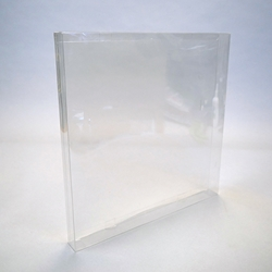 LP Box Set Protector-Crystal Clear