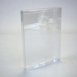 DVD Case & Video Game Protector-Crystal Clear