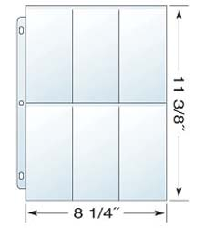 3 Ring BINDER PAGES
