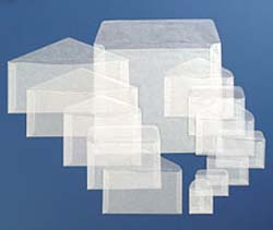 #4-1/2 Glassine Envelopes for Stamps