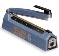 Hand Operated Impulse Sealer. FLAT SEAL.
