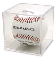 Acrylic Baseball Holder with UV Barrier