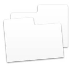 Plastic Cabinet Card Dividers