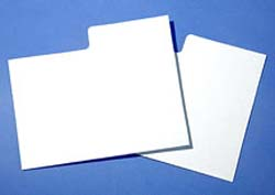 Plastic DIVIDER CARDS for Pulp Magazine and Reader's Digest
