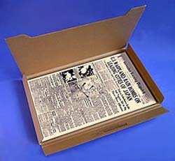 Corrugated Cardboard Mailer for Newspaper & Prints