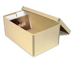 CABINET CARD Storage Boxes